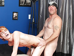 Male masturbation and anal fingering and self male anal sex at I'm Your Boy Toy