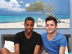 Smooth shaved twink dick and nude hollywood male actor fucking each other - at Real Gay Couples!