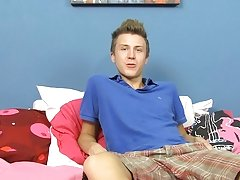 He's adorable, quirky and super fun.  He tells us about his nine inch chisel which he uses to predominate other twinks.