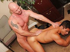 Young gay anal sex tub at My Gay Boss