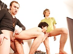 Not the case here with this cute twink getting fucked by one as well as the other of his boyfriends at the same time full length movies of ga at Boys