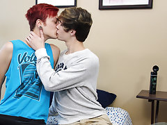 Gay first blowjob and boys first homo sex