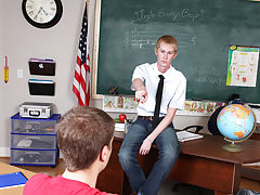 Twink bound tgp and hairy chest daddy blonde twink at Teach Twinks