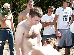 There is nothing like a nice summer time splash, especially when the pool is man made and ghetto rigged as fuck group gay sex ads profiles