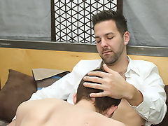 Gay young men dark hair blue eyed porn and jerking off guys slowly at I'm Your Boy Toy