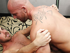Gay black guy anal toy and night xxx as fucking the boy in big anus at My Gay Boss