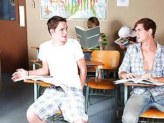 Twink rub handjob blowjob cumshot and asian gay twinks emo at Teach Twinks