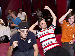 We took over this local club and rounded up all the horniest males we could free gay group porn at Sausage Party