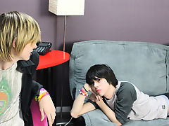 """"""" The 2 shoot almost simultaneously and paint Miles' diminutive frame with cum amateur gay twink webcam sex"""