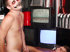 Pics of cute gay dudes sagging their trousers and gay emo porno facials sperm at Boy Crush!
