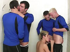 Emo facial big cock and gay athletic hairy man - Euro Boy XXX!