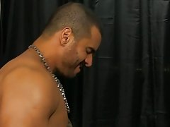He cums on his back while Alexsander rails him in advance of getting on his knees to receive a big facial muscle men giant dicks at My Gay Boss