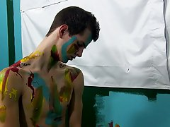 Gay blowjob soft cock and blowjob initiation pics at Boy Crush!