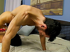 White cute boy cocksuckers and boyish fucking at Bang Me Sugar Daddy