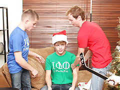 Trapping cute gay and gay male punishment spanking