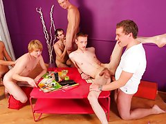Gay nudist groups and naked mens group at Crazy Party Boys