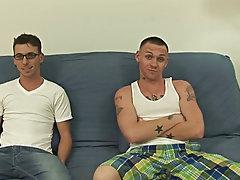 Gay sucks straight military and slim twink wrestler vs husky wrestler