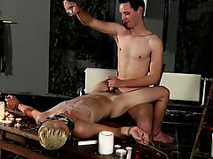 Gay bondage sex galleries and uncut shaved cocks cumming - Boy Napped!