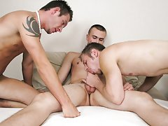 Straight boys in wood and gay blowjob slave at Straight Rent Boys