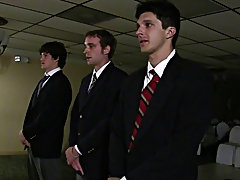 the brothers at *** filmed one of their induction ceremonies gay porn group sex xxx