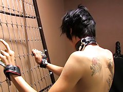 Baretwinks goes all out in this thraldom clip with Rad and Miles using the darksome dungeon gear to the extreme first gay asian