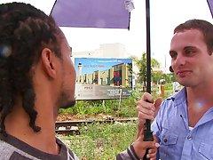 We met Derek at his job so he can meet Castro Supreme in person