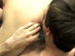 Cute italian twinks clips and white slave kissing a black mans feet at Boy Crush!