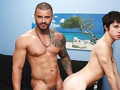 Gay hardcore video and gay anal porn hardcore at Bang Me Sugar Daddy