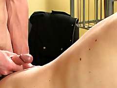 Twinks drinking twink piss and old man splits twinks ass in shower at Teach Twinks
