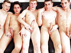British gay twink boys and gay huge uncut cock going into a twinks but at Staxus