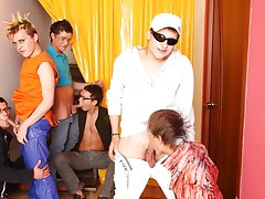 Group gay sex xxx fucking and long gay group sex at Crazy Party Boys