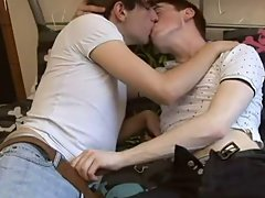 Young white gay sex and young boy naked cums and eats it video at EuroCreme