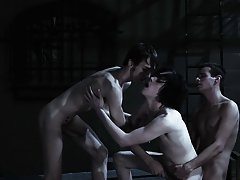 Men group masterbating and gay pics groups - Gay Twinks Vampires Saga!