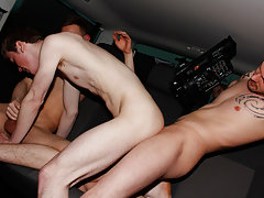 Two guys kissing and having sex videos and sexy ass nude twinks - at Boys On The Prowl!