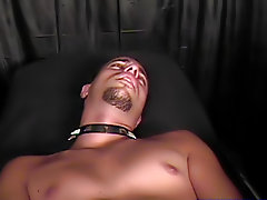 Then, there were two wires that were put on my body, one on my knob and then another one up my hole gay fetish