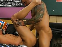He cums on his back during the time that Alexsander rails him in advance of getting on his knees to acquire a large facial male escorts and muscle at