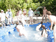 The winners of course were excempt from hell week but the losers had to pay the ultimate price gay nudist groups