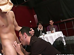 Free videos straight young man getting blow jobs in public and cum filled twinks photos at Sausage Party