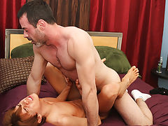 Man fucking fake pussy and stocky hairy men masturbate at I'm Your Boy Toy