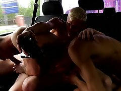 Sissy twinks sucked and milked and gay missionary and cum in ass tubes - at Boys On The Prowl!