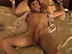 Trace rips William's shirt off and makes him remove his sock with his teeth in advance of feeding him his cock boys first fucking - at Boy Feast!
