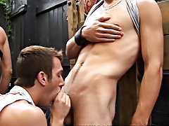 One couple do start fucking at the end of the scene but in the lead up its all blow jobs gay groups for se at Backroomfuckers