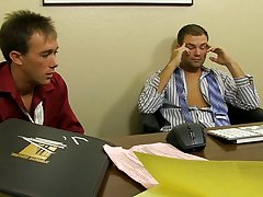 Cute masturbation clip and twinks in underwear ass fingered at My Gay Boss