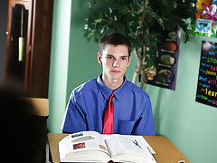 Krys Perez is a disciplinary professor in this unbelievably sensitive scene male anal first time how to at Teach Twinks