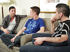 When we brought Maxxx in for this shoot, he was visibly excited and maybe just a little nervous to get his first taste of cock gay teens having group