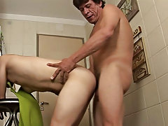 Soon the twink's fuck stick was dangling between his sexy thighs in its blazing hardness gay anal sex toys