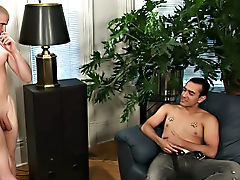 Sam and Johnny's dishwasher has broken down, so they call the handyman cocks gay hardcore