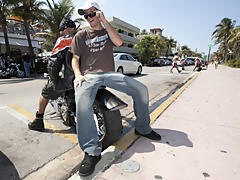 I had Danny meet me down on South Beach interracial gay galleries