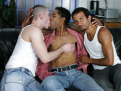 Marick runs into two hot guys, Anthony and Thomas, on his way to get some new wheels and decides to be gone in the direction of a different test drive