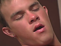 After the missionary position Josh turns Sean greater than onto his stomach and then slides his cock in from behind staddling him gay   twink   mature